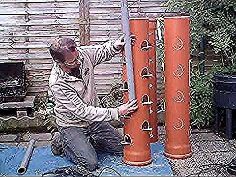 Photo of Urban garden idea / How to make a strawberry tower …
