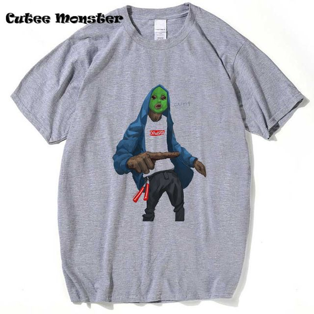 f9c003750536 Odd Future Ofwgkta Band T Shirt 2017 Summer Fashion Men Women Hip Hop T- shirts