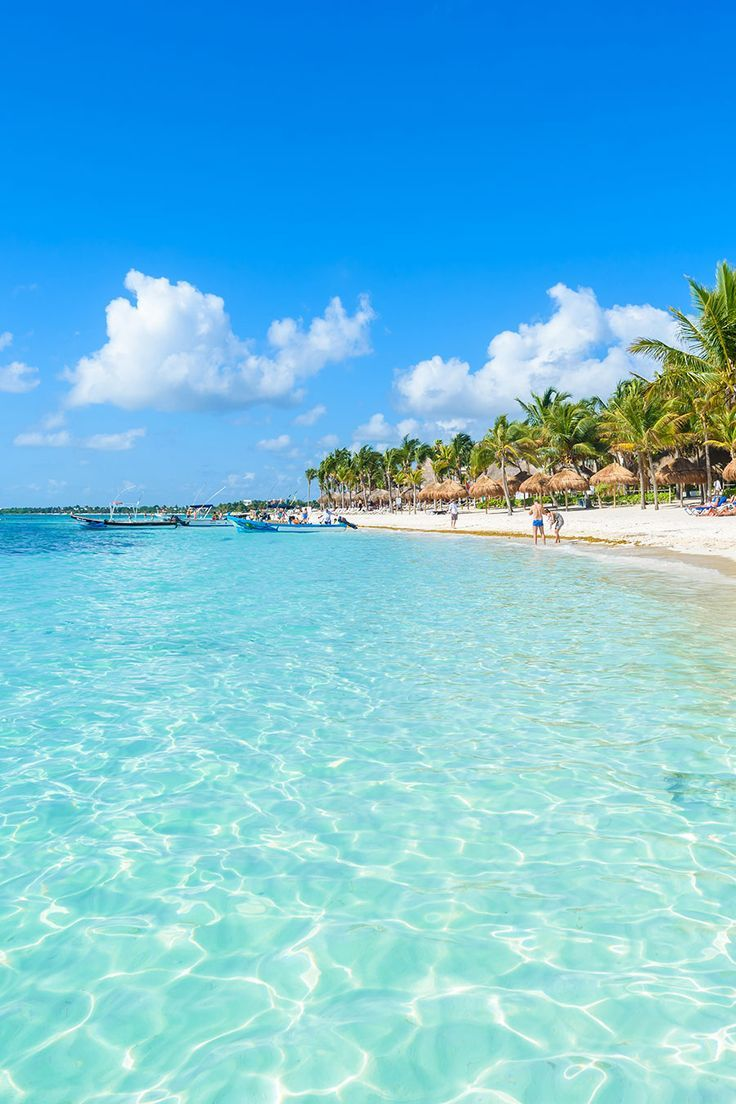 Beautiful Beach In Akumal Mexico