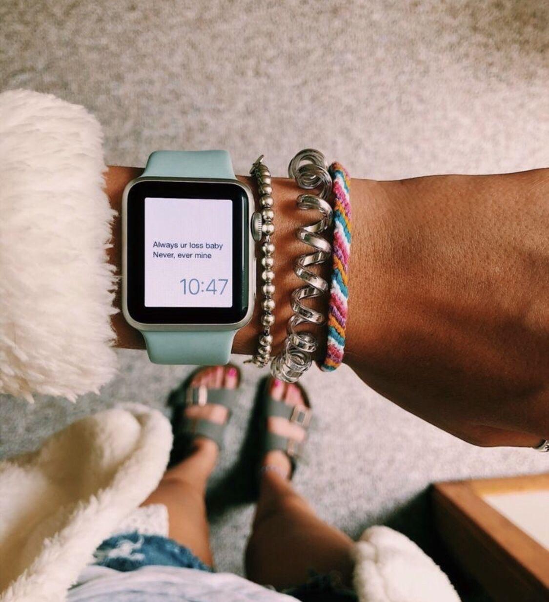 Pinterest carolinefaith417★ Apple watch fashion