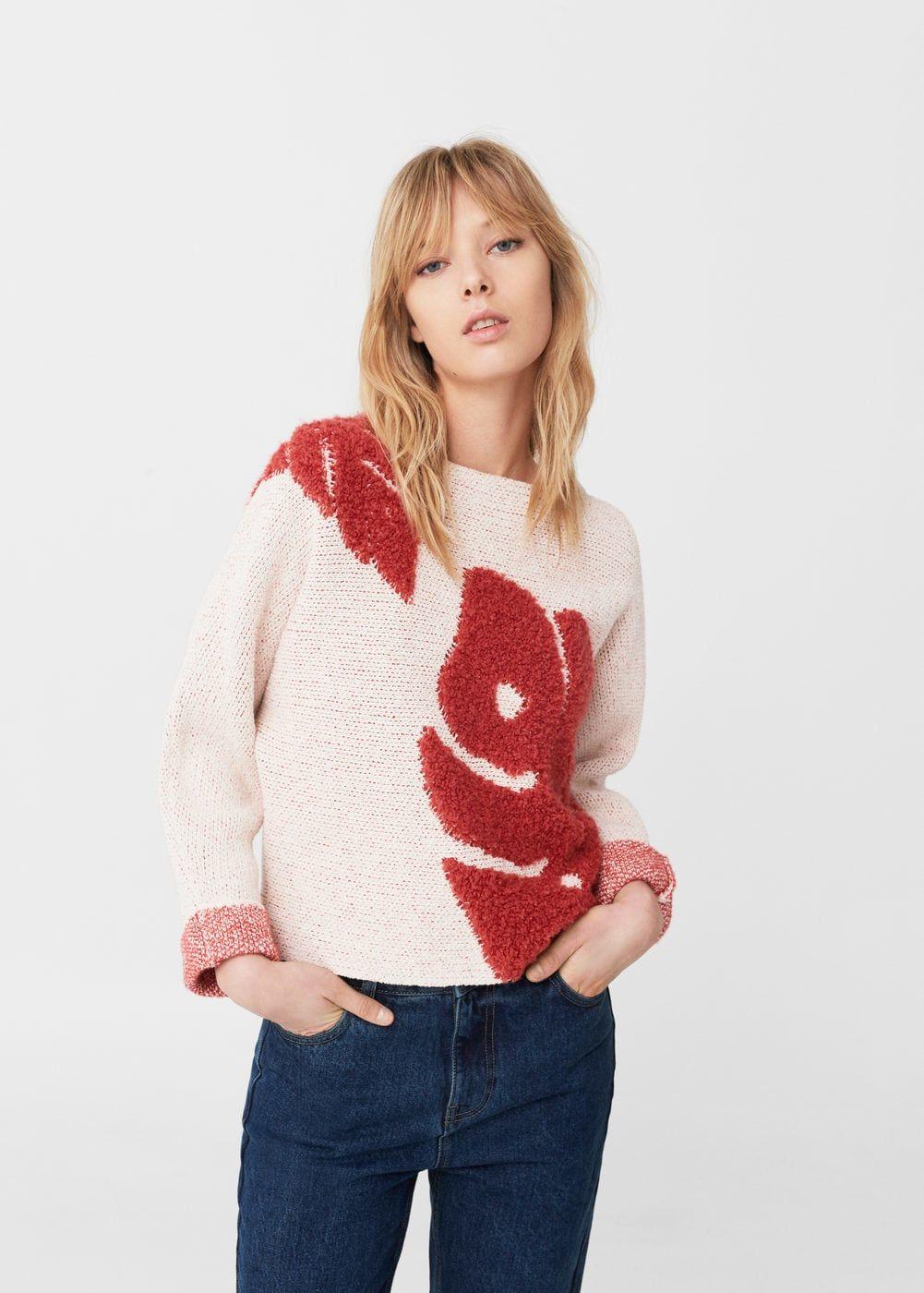 Textured cotton sweater | Cotton sweater, Cotton and Fall winter ...