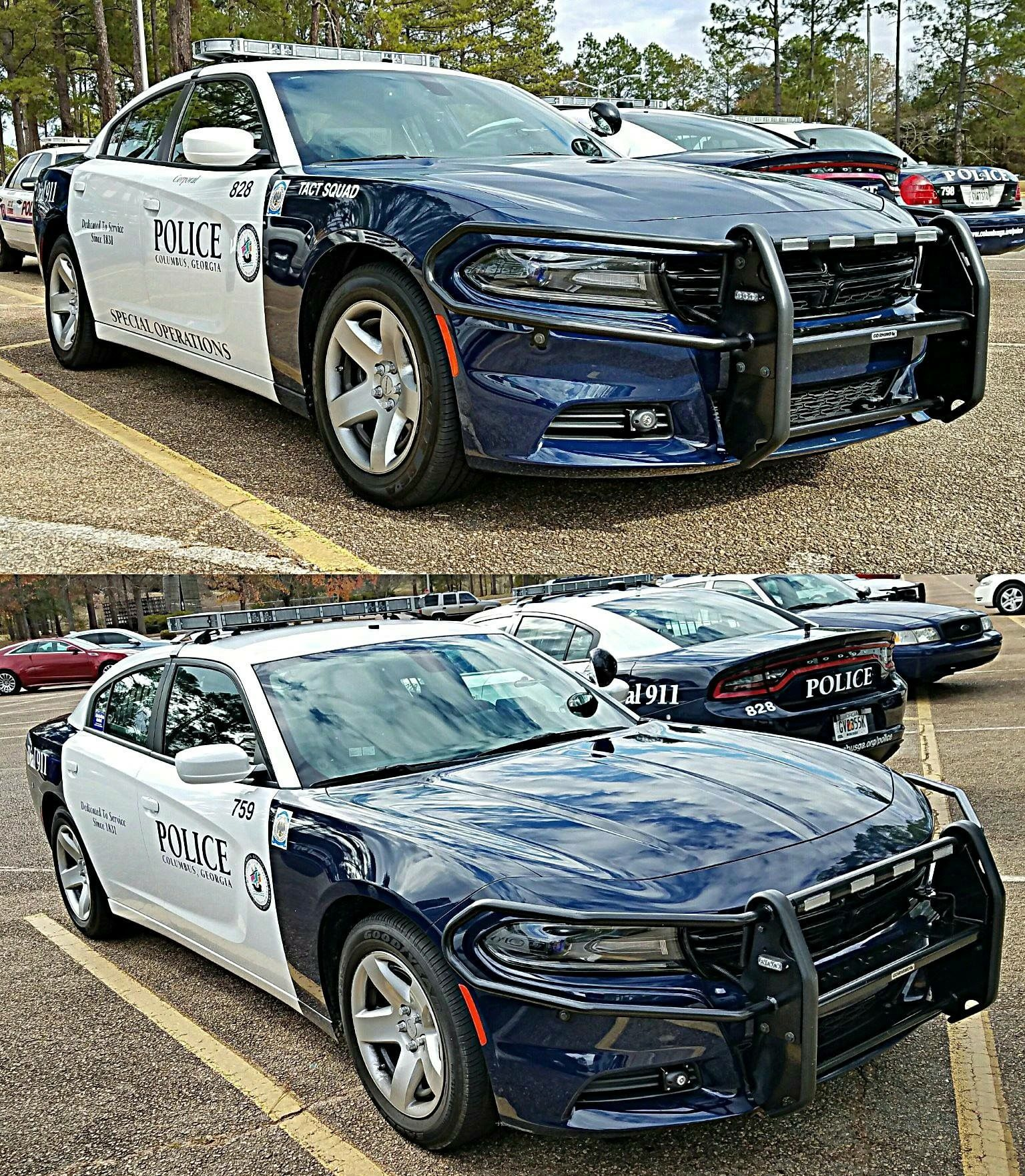 Columbus Georgia Police Department Chargers Police Cars Police Emergency Vehicles