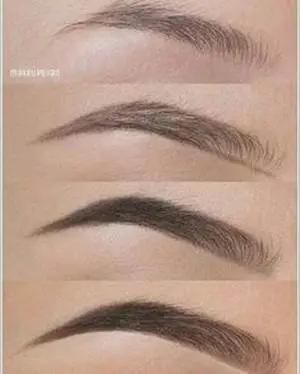 40 صورة لحواجب طبيعية للنساء في عام 2020 مع طريقة صبغ الحواجب In 2020 Eyebrow Makeup Tips Eyebrow Makeup Brow Makeup