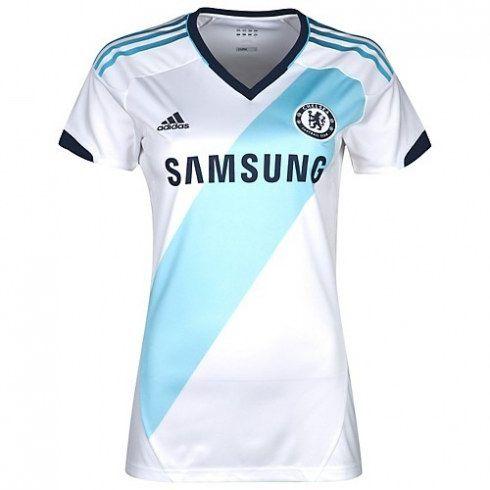 Chelsea Mujer 2012 13 Away Camiseta fútbol  346  - €16.87   Camisetas de  futbol baratas online! b5af7a94505f8