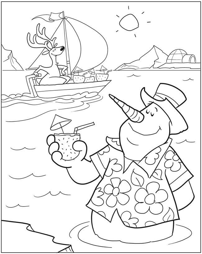 Silly Snowmen Coloring Book By: John Kurtz Dover