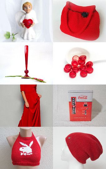 Lovely Red by decoratore on Etsy--Pinned+with+TreasuryPin.com