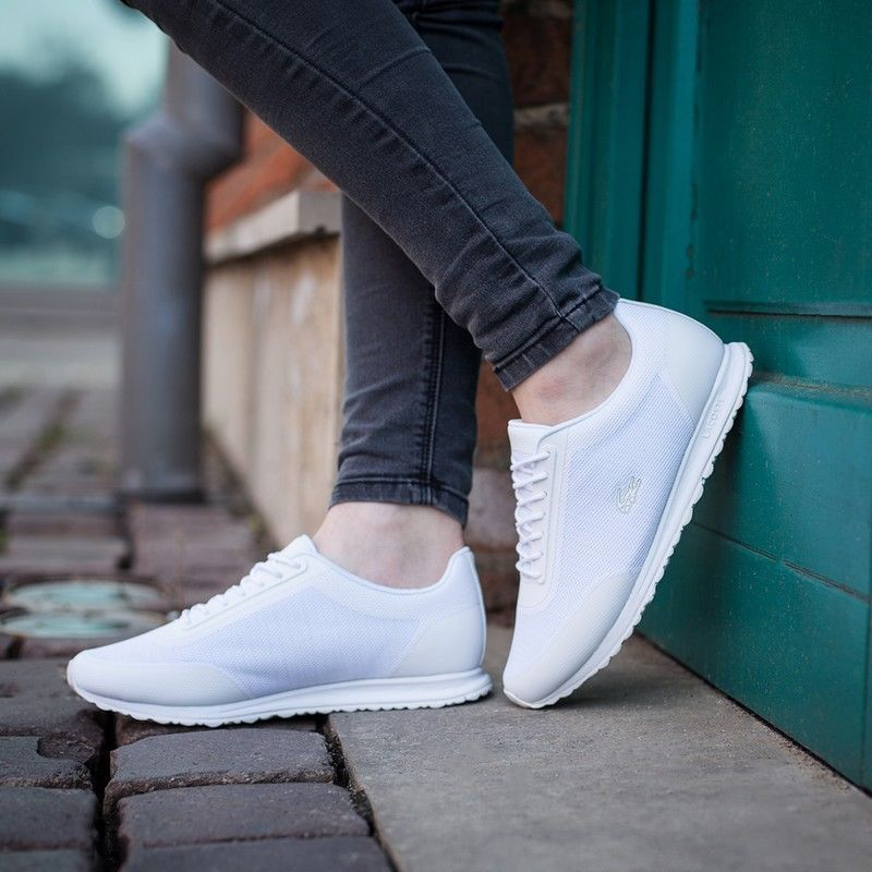 a33933fba Womens Lacoste Shoes White Sneakers Helaine Runner 116 3 Authentic ...