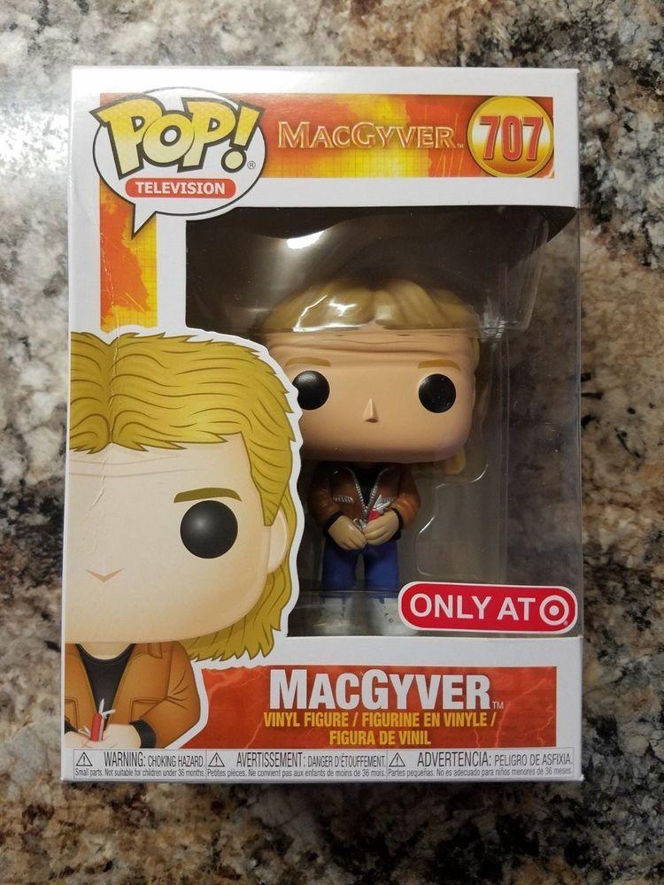 MacGyver POP TV Funko MacGyver Brand New In Box