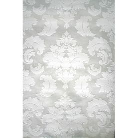 White Strippable Paper Prepasted Paintable Wallpaper