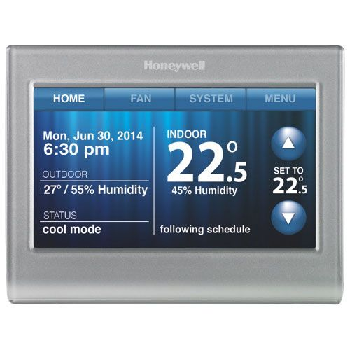 Now you can control your home temperature with the convenience of WiFi…