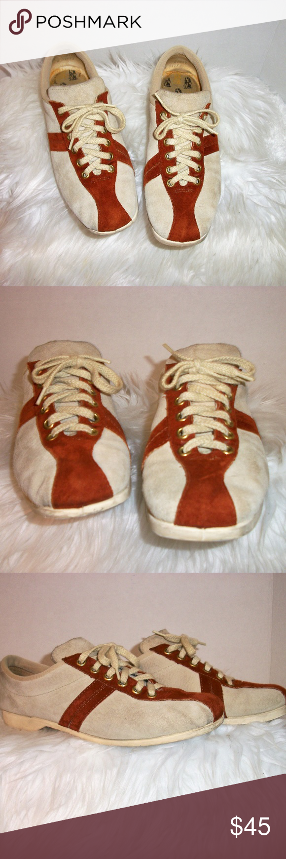 Vintage Hush Puppie Size 8 Suede Bowling Shoes About These Shoes Brand Hush Puppies Made In Usa Size 8 Do Not Wash Hand Wash Soles And Use Suede Bowling Shoes