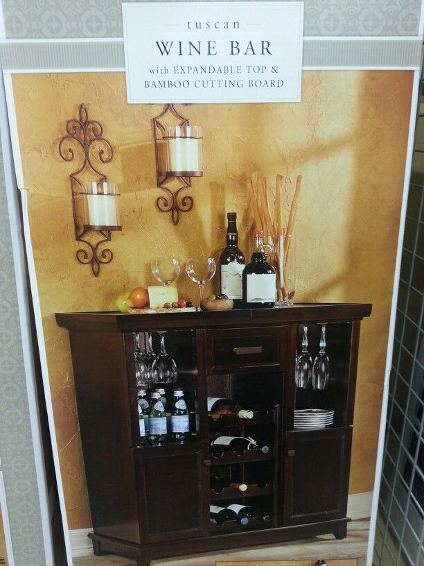 Bed Bath And Beyond Wine Bar I Have One Of These Love Mine Placed A Mirror Above It Great Storage Think We New Furniture