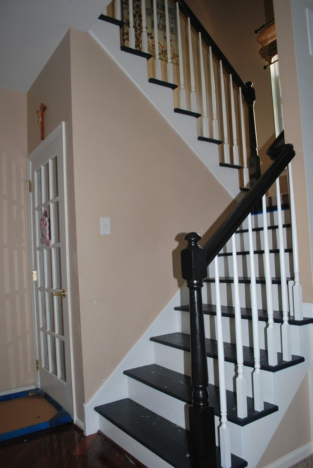 The Staircase Transformation Diy home interior, Painted