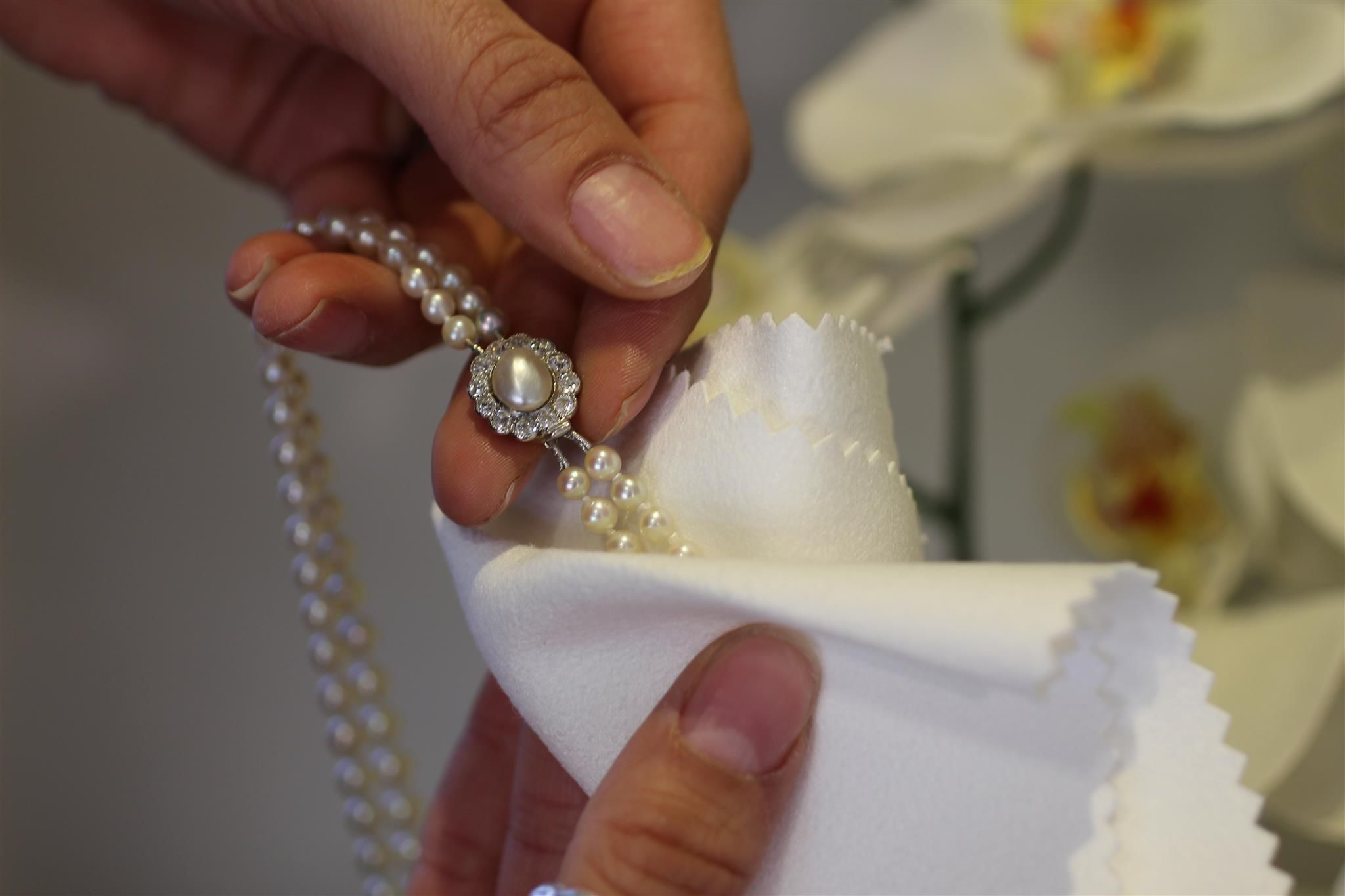 How to Clean Pearl Jewellery The AC Silver Blog How to
