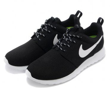 80c485a3b9 Nike Roshe Run Mens Black White Mesh shoes (Note for Geena  Don t forget to  change the size to 9.5 since you are an 11 in womens)