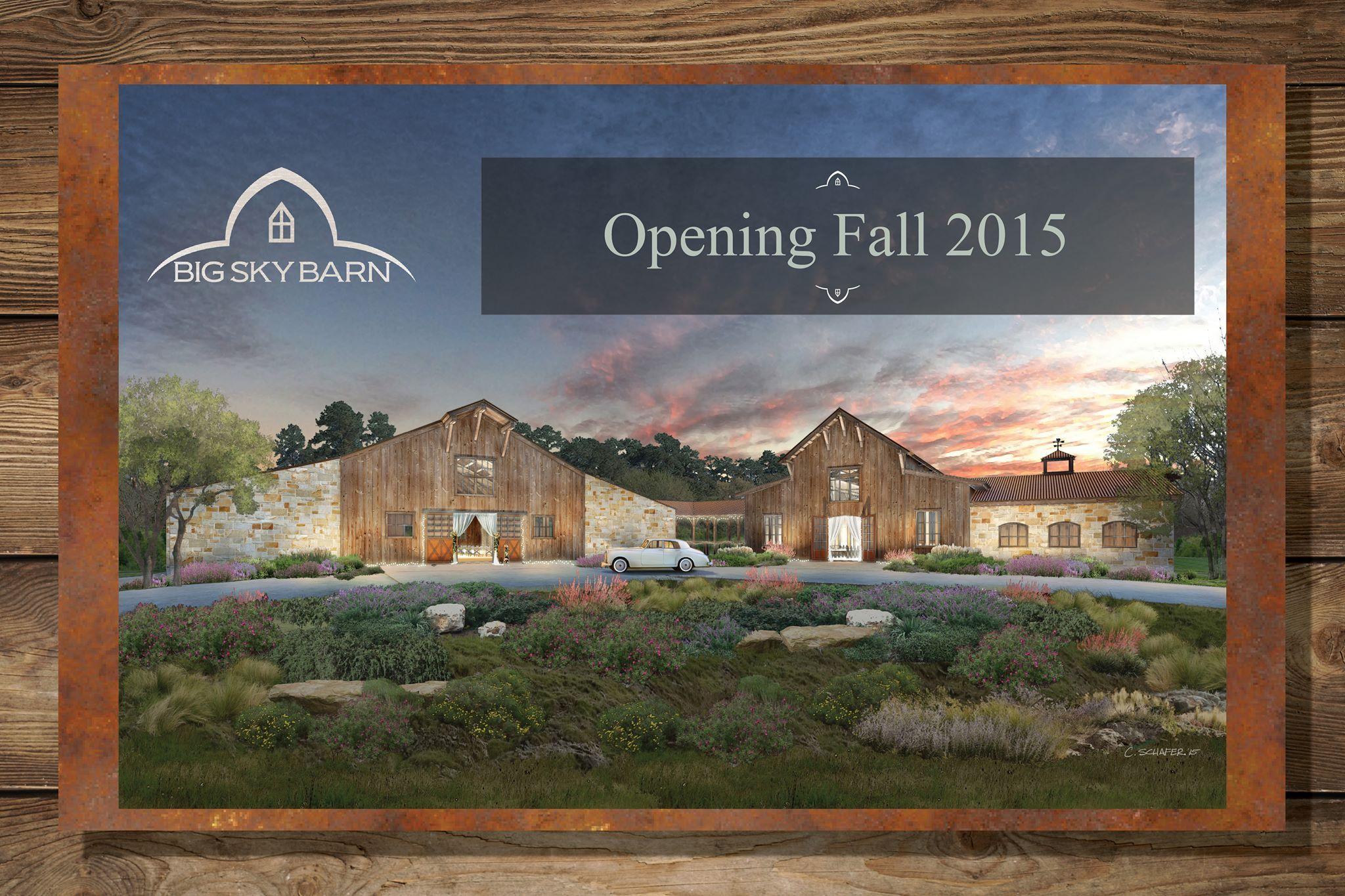 Big Sky Barn Wedding Venue Montgomery TX