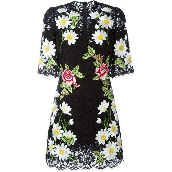 0e905d86c7d Dolce   Gabbana floral embroidered lace dress ( 4