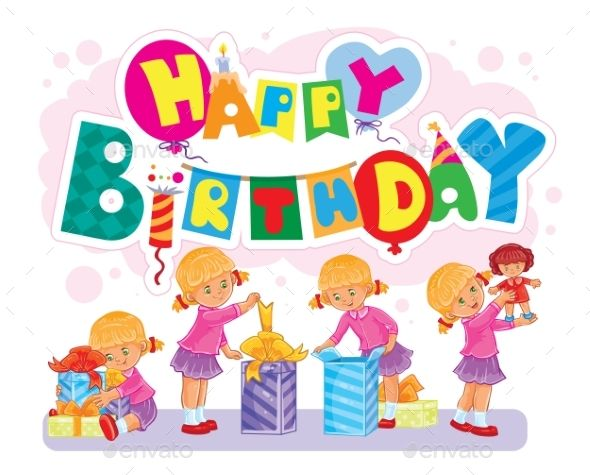 Template for Happy Birthday Greeting Card Happy birthday greeting - greeting card template