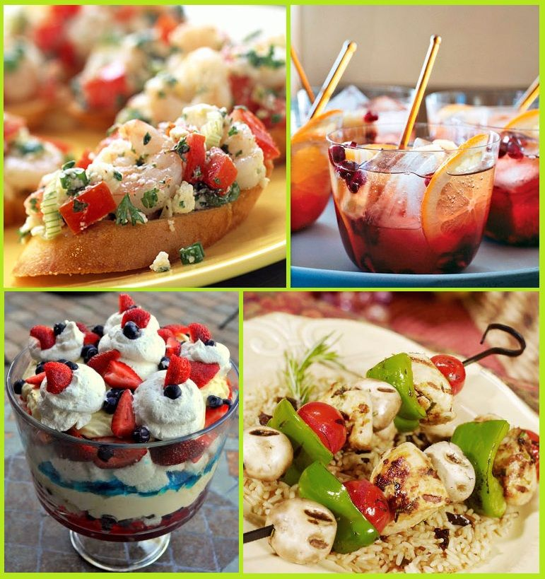 Summer Party Food Ideas Memorial Day Weekend 4th Of July And Labor