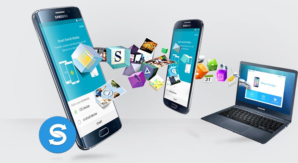 Import and Transfer Data to Galaxy S6 with Samsung Smart