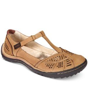 5ce21149b25ab Jambu Women Bridget Mary-Jane Flats Women Shoes | Products | Flats ...