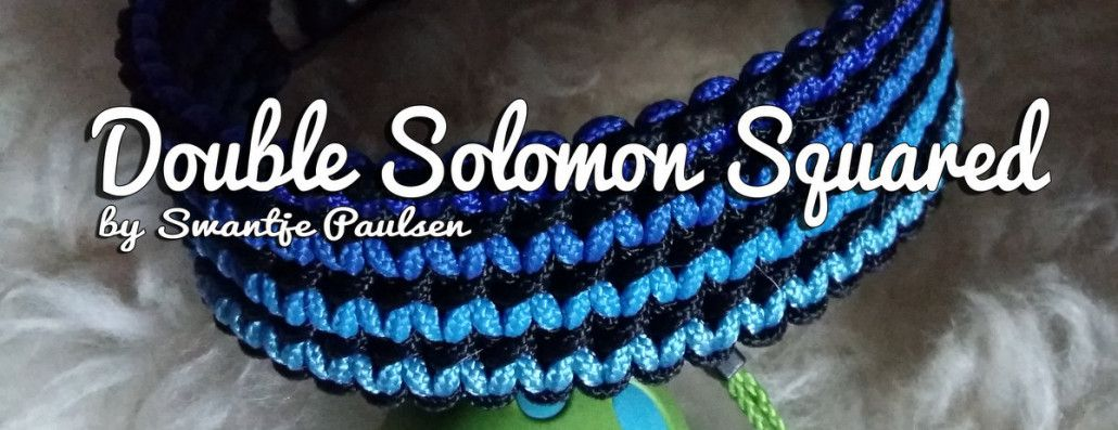 Double Solomon Squared / XXL Solomon Bar | Swiss Paracord