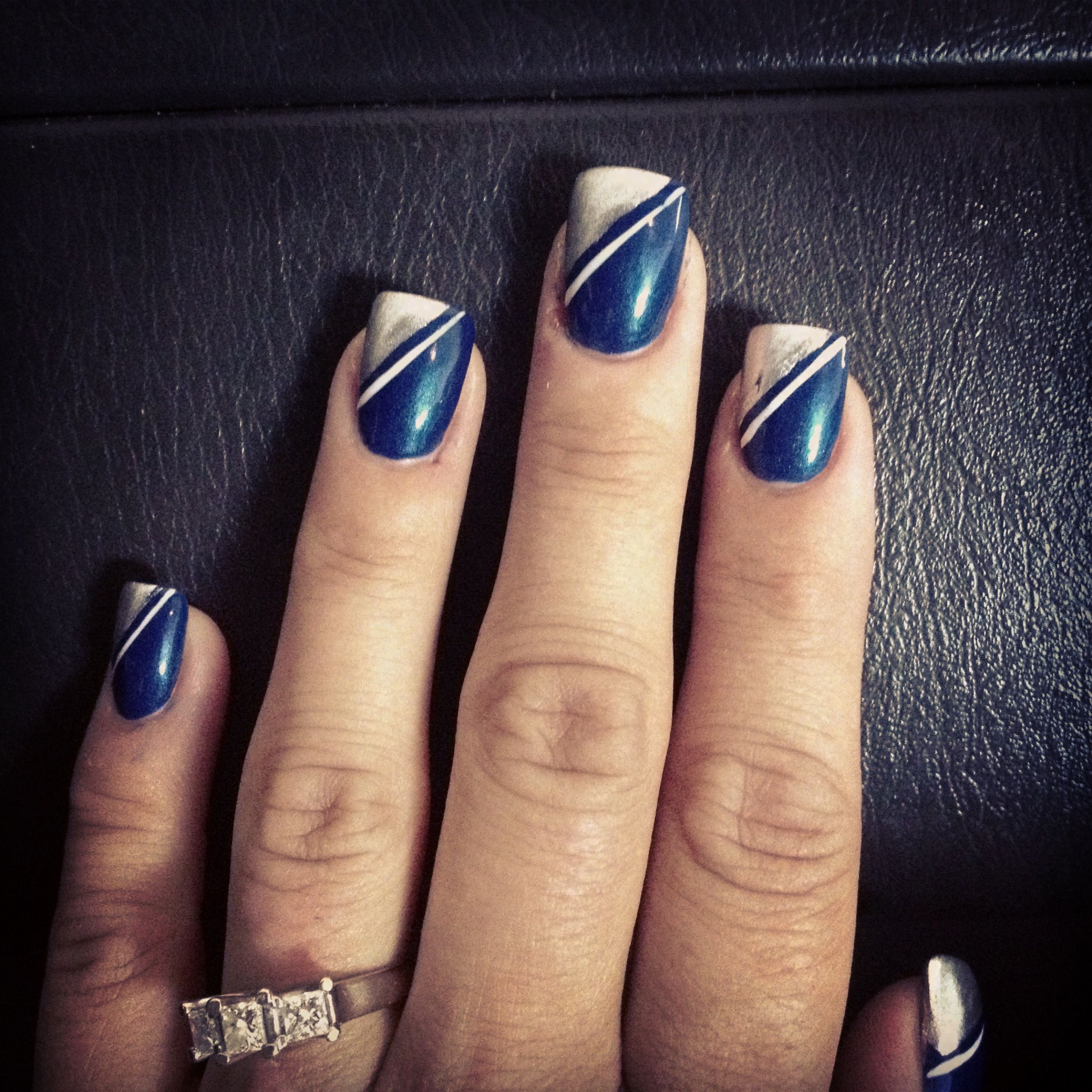 Dallas Cowboys Nails | Nails | Pinterest | Dallas cowboys nails ...