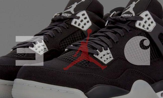 12850ab4b588da Eminem and StockX Are Giving Away the Air Jordan 4  Carhartt  http ...