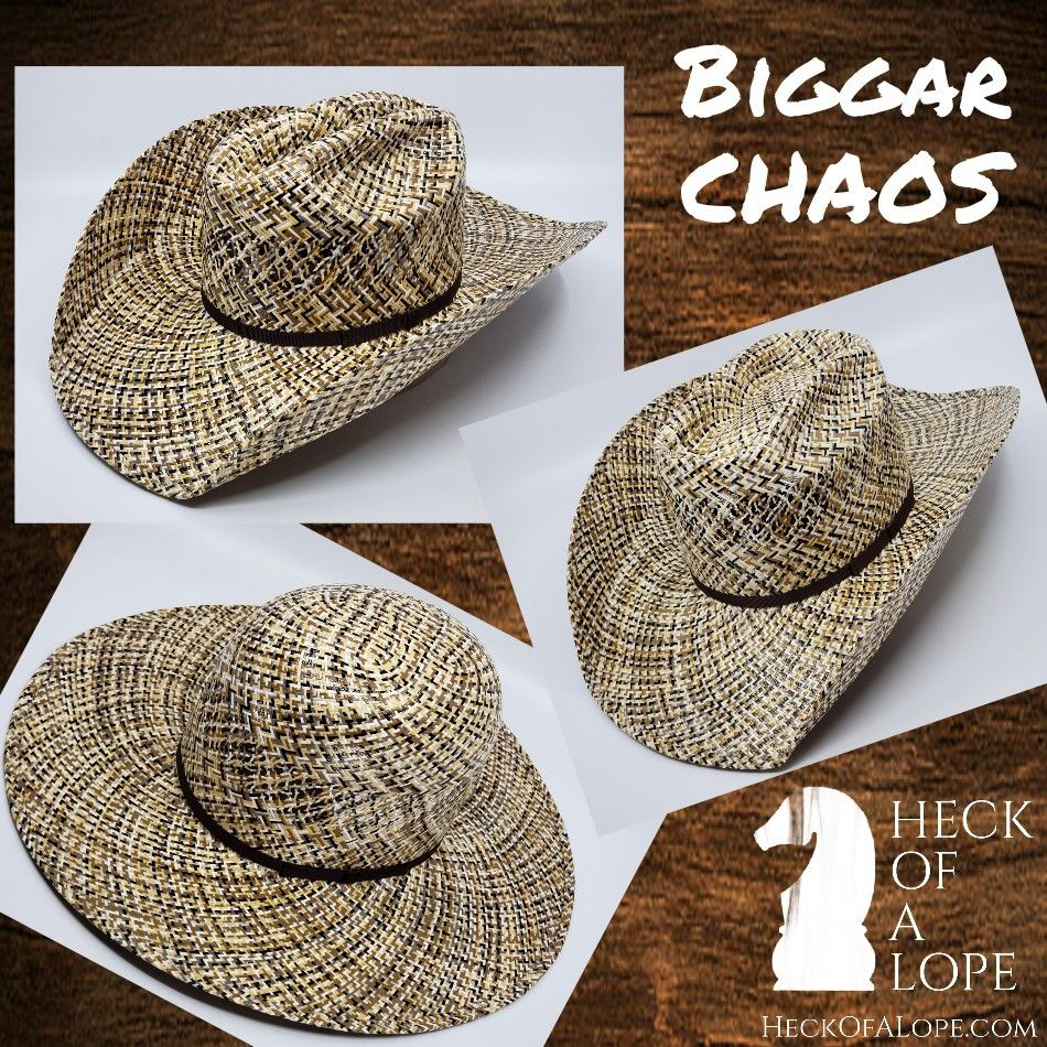 e07358ac10f92 〰️The All New Biggar Hats CHAOS Is One Of The Highest Quality  amp  Longest