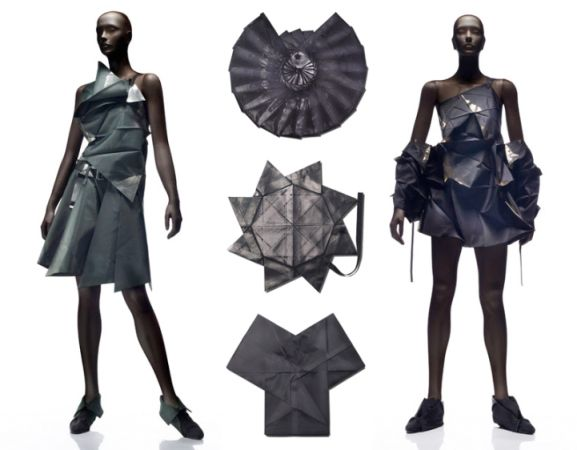 Origami Clothes Google Search Fabric Sculpture Pinterest