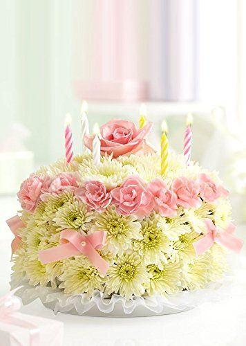 1800Flowers Birthday Flower Cake Pastel httpyourflowersus