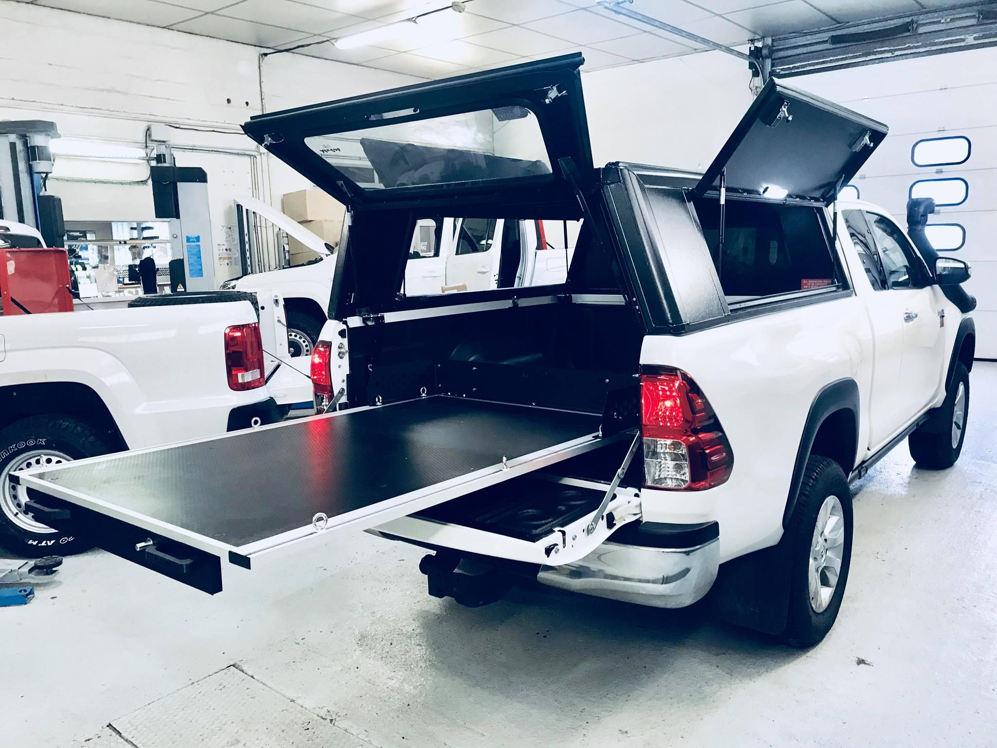 Plancher Coulissant Rolide Toyota Hilux Pick Up Toyota