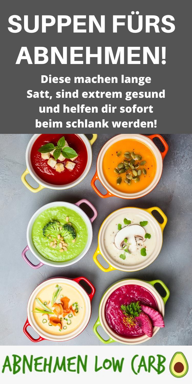 Suppen zur schnellen Gewichtsabnahme