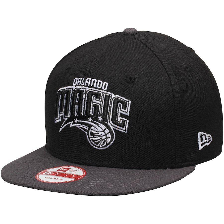 the latest 66628 9eedb Mens Orlando Magic New Era Black Graphite 9FIFTY Snapback Adjustable Hat,  Your Price   29.99