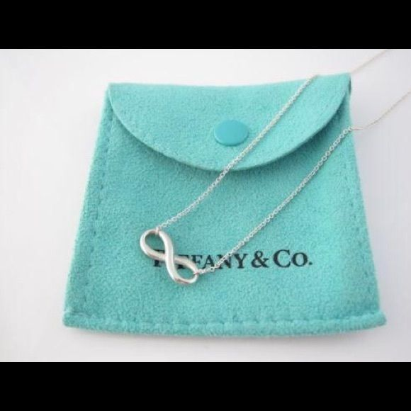 0712ecfd0 TIFFANY'S Infinity Necklace. sterling silver!! TIFFANY'S Infinity Necklace.  sterling silver!! NO LONGER HAVE BAG/BOX !!! Tiffany & Co. Jewelry Necklaces