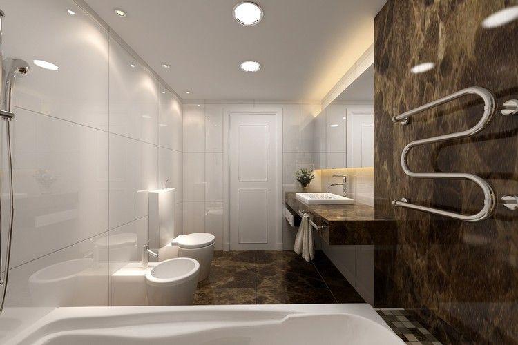 Lamparas de techo para cuartos de baño - 50 ideas | Baño, Cuarto de ...
