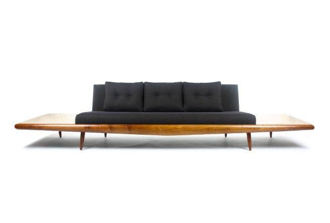 Adrian Pearsall Platform Sofa For Craft Associates   Mr. Bigglesworthy  Designer Vintage Furniture Gallery