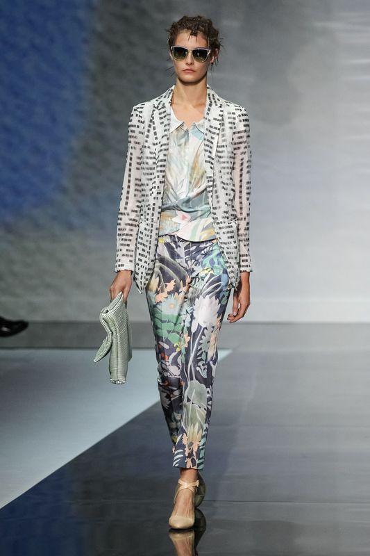 Emporio Armani - Milán Fashion Week Primavera Verano 2014