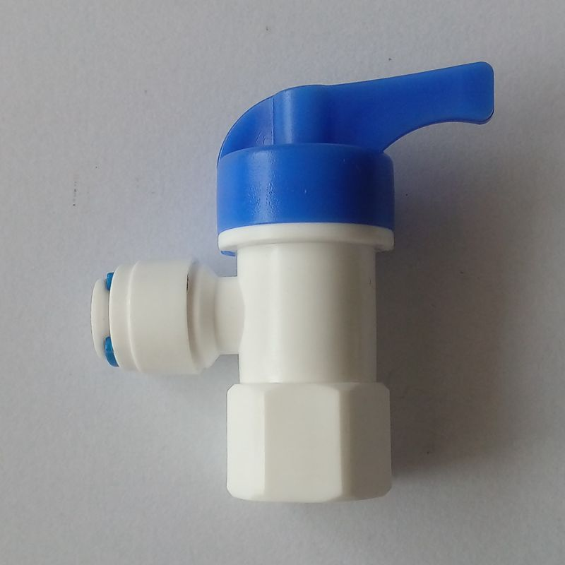 Water Filter Parts 1 4 Tank Angle Ball Valve For Water Purifier
