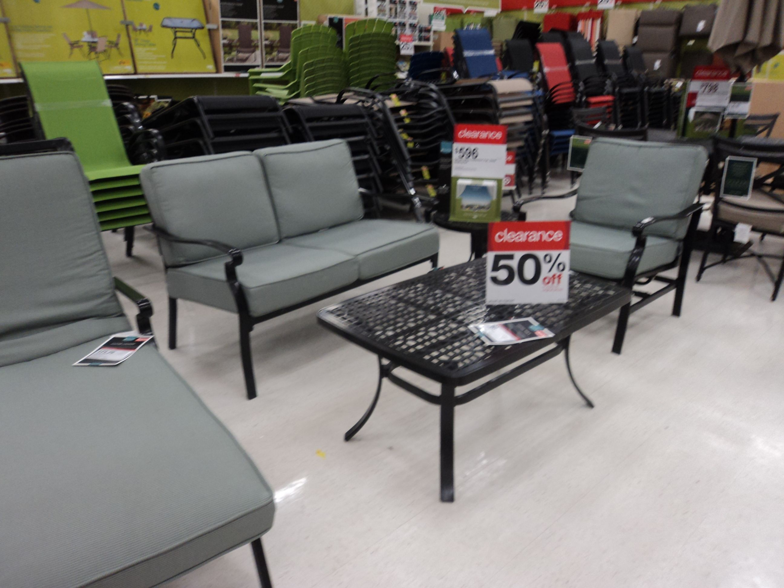 Patio Furniture Clearance Target Clearance Save 50 On Patio Sets