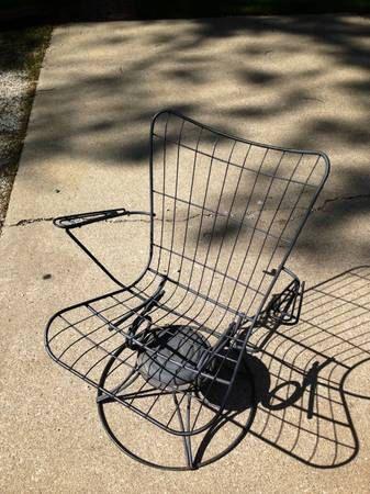 Vintage Homecrest Rocker Swivel Chair