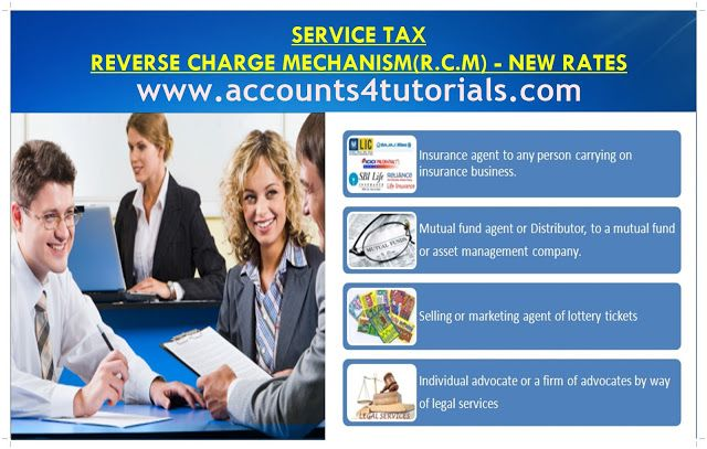 Service Tax Reverse Charge Mechanism R C M New Rates With