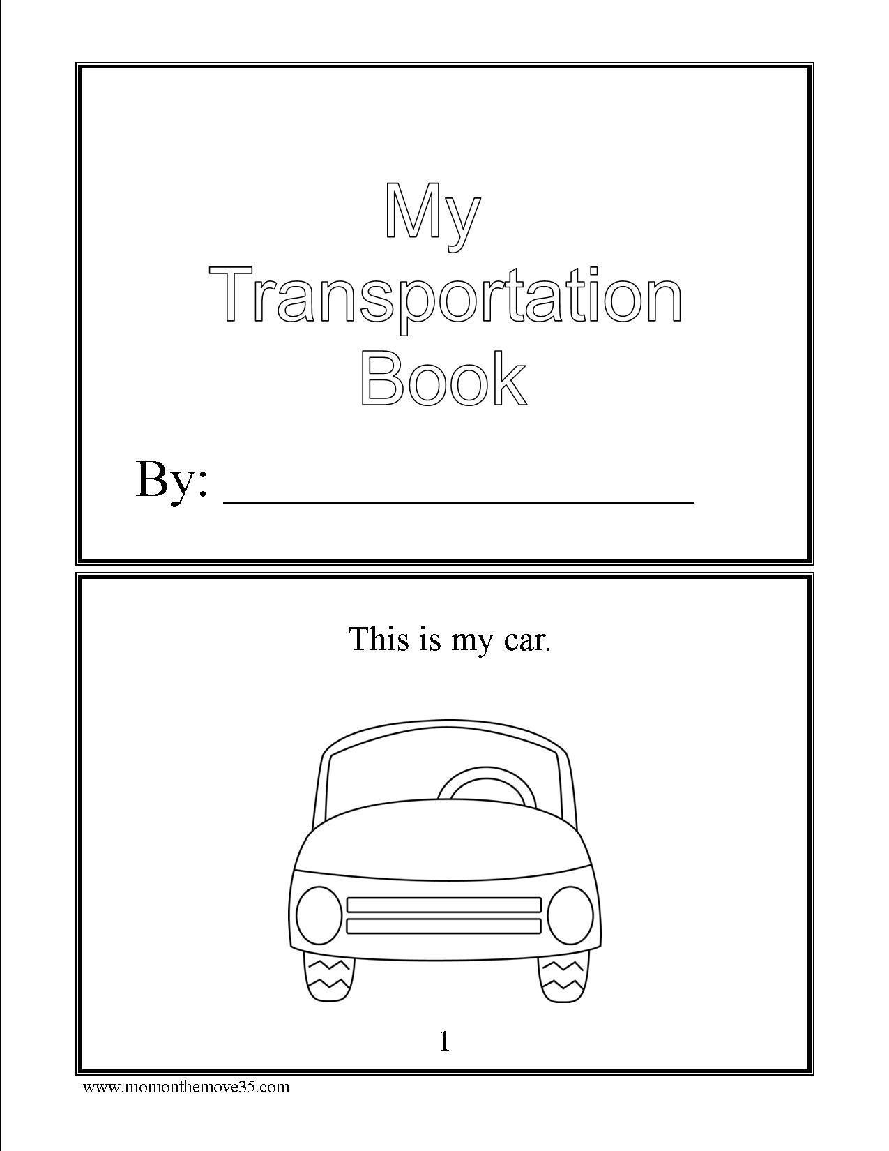 Transportation Activities For Preschoolers Transportation Preschool Activities Transportation Preschool Transportation Activities [ 1650 x 1275 Pixel ]