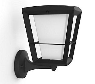 Control this smart lantern from your smart phone and make sure the lights are on to greet you when you pull into the driveway. From Philips.