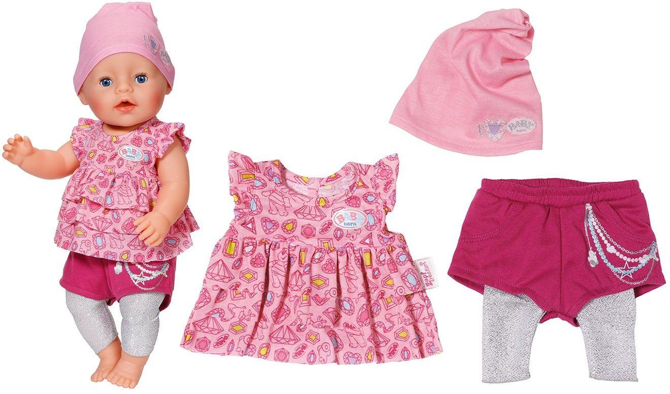 Baby Born Ubranko Dla Lalki 43 Cm Sukienka 6730225591 Oficjalne Archiwum Allegro Baby Alive Doll Clothes Baby Doll Nursery Baby Alive Dolls
