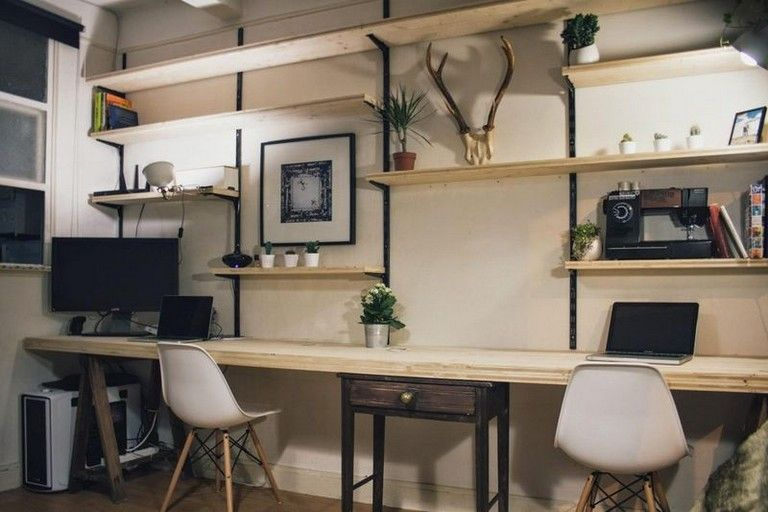 49 Remarkable Rustic Home Office Furniture Ideas Homeoffice