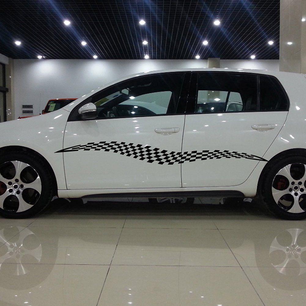 Amazon Com Bestwoohome Vinyl Waterproof Long Car Body Decals Stickers Car Car Stickers Car Decals [ 1001 x 1001 Pixel ]