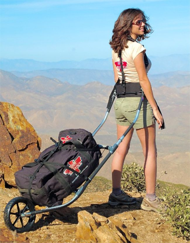 Backpack With Wheel: 'Dixon Rollerpack' Hauls Heavy Loads ...