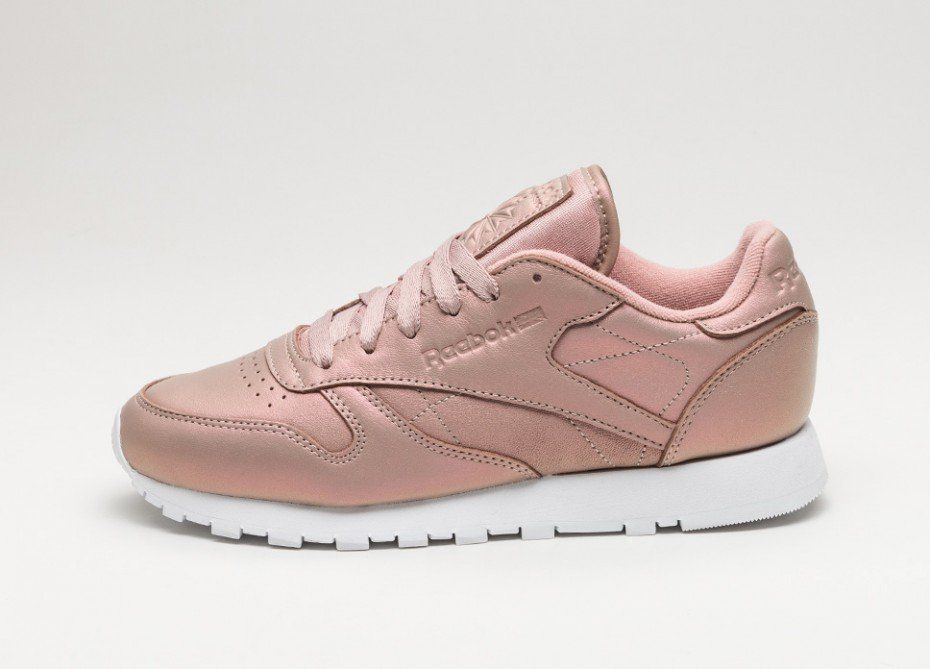 0abbc94a1ca Reebok Classic Leather  Pearlized  (Rose Gold   White)