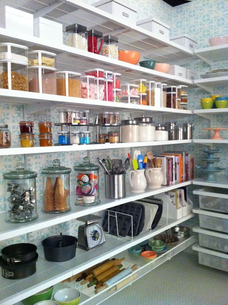 Elfa Pantry Ideas